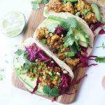 Chipotle Sofritas Tempeh Tacos