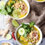 Vegan Thai Peanut Curry {Massaman}