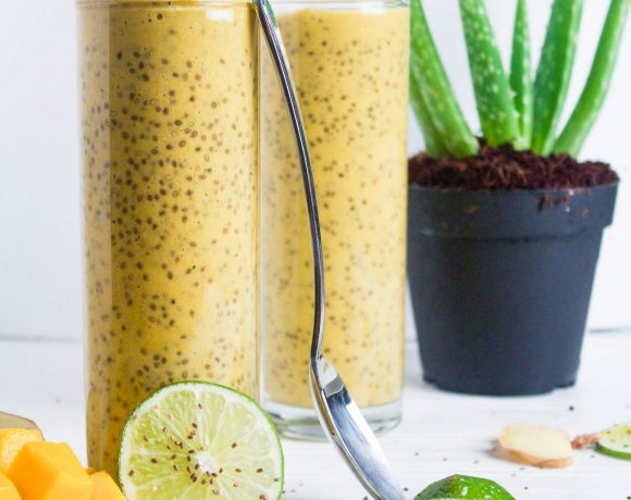Mango Lime Sunshine Chia Pudding