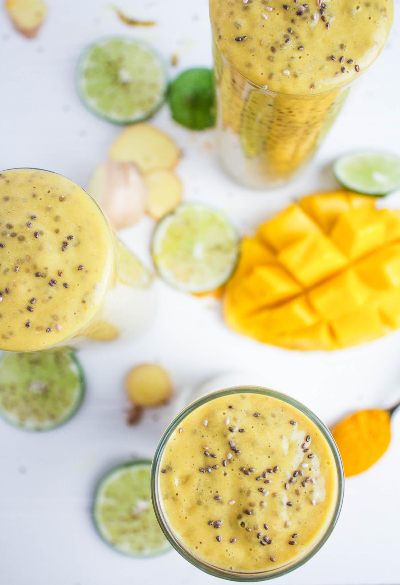 Mango Lime Sunshine Chia Pudding