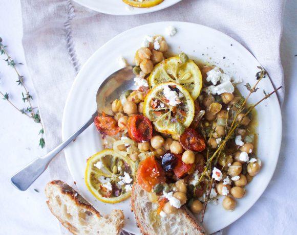 Mediterranean Braised Chickpeas