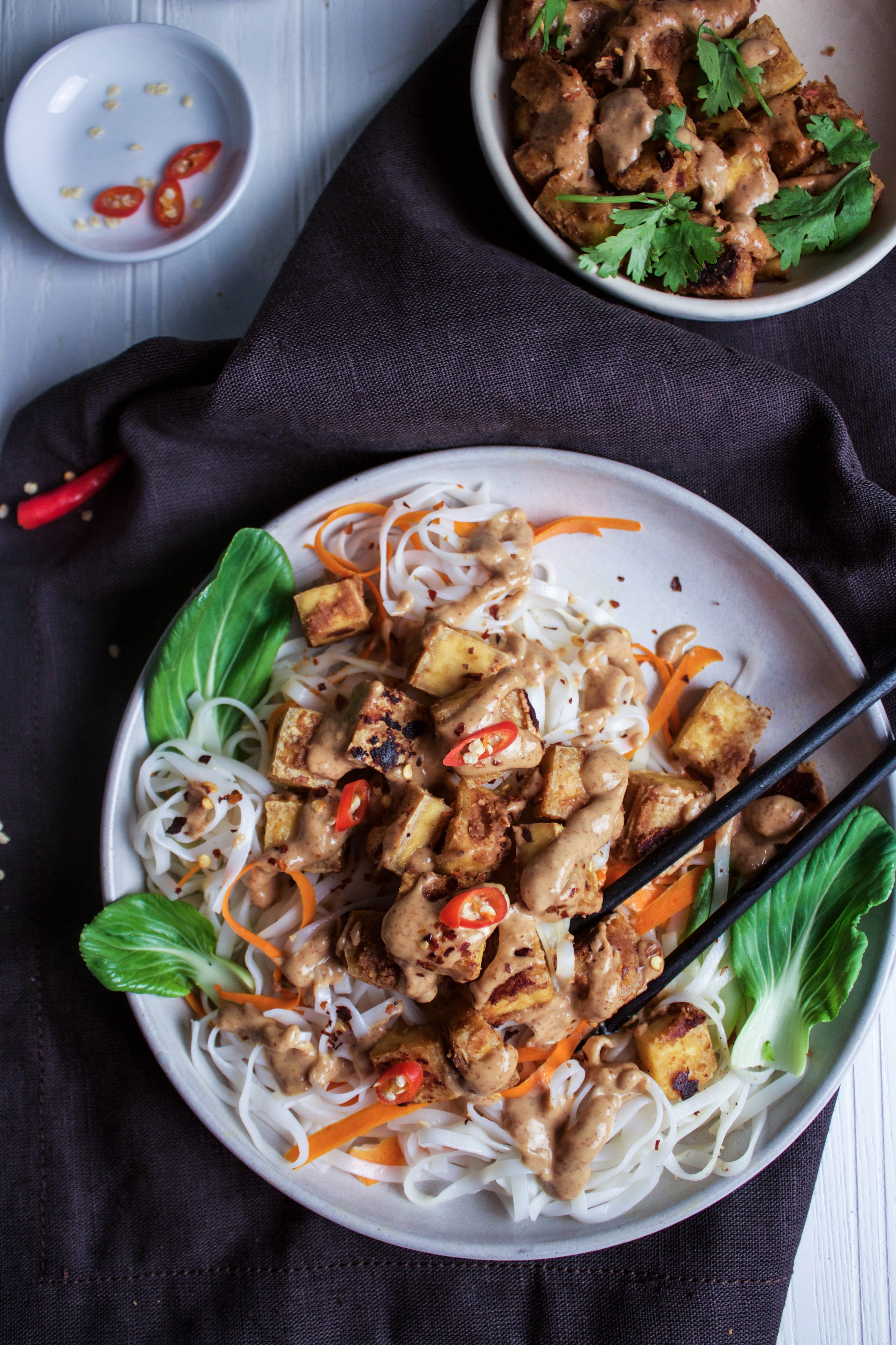 Thai Almond Butter Tofu