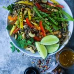 Chilled Mango Noodle Salad with Chili Lime Vinaigrette