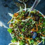 Moroccan Lentil Salad w/ Golden Vinaigrette