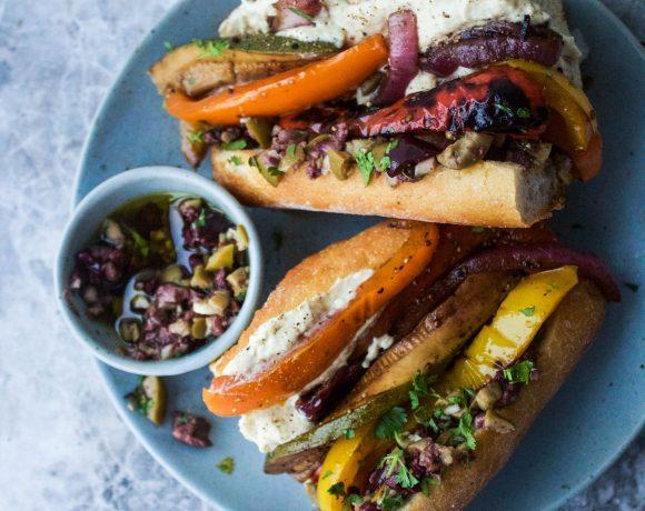 Vegan Grilled Summer Sandwiches