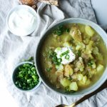 Creamy Leek, Miso & Potato Soup