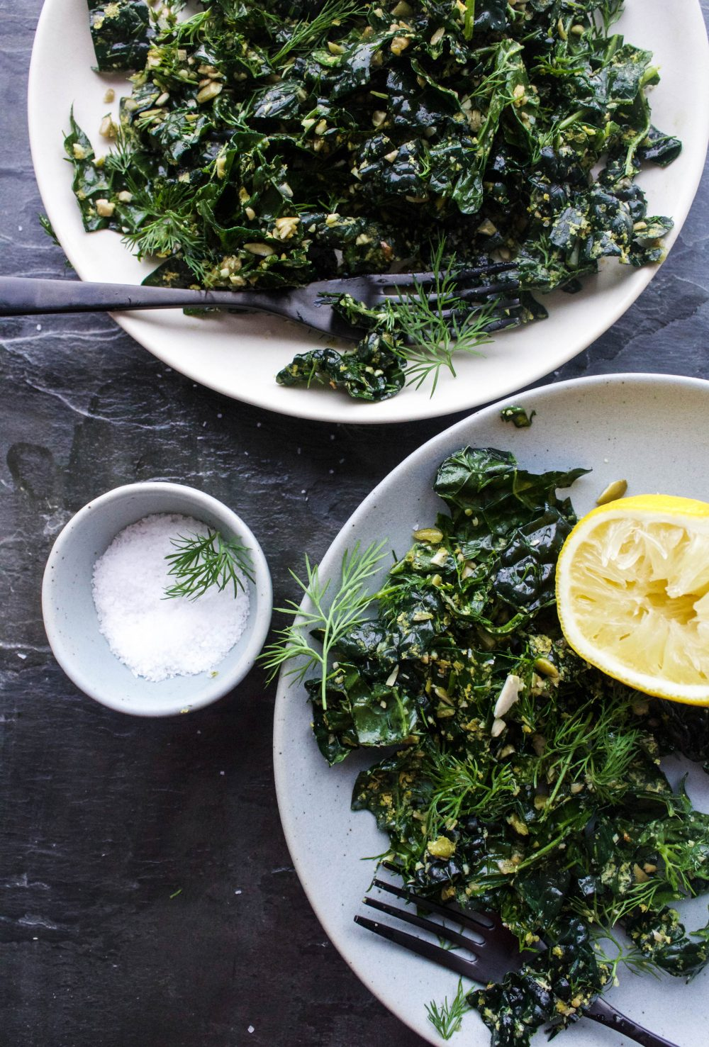 Herby Kale Salad | Earth & Oven