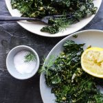 Herb & Garlic Massaged Kale Salad