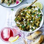 Moroccan Millet Salad & Dilly Potato Salad
