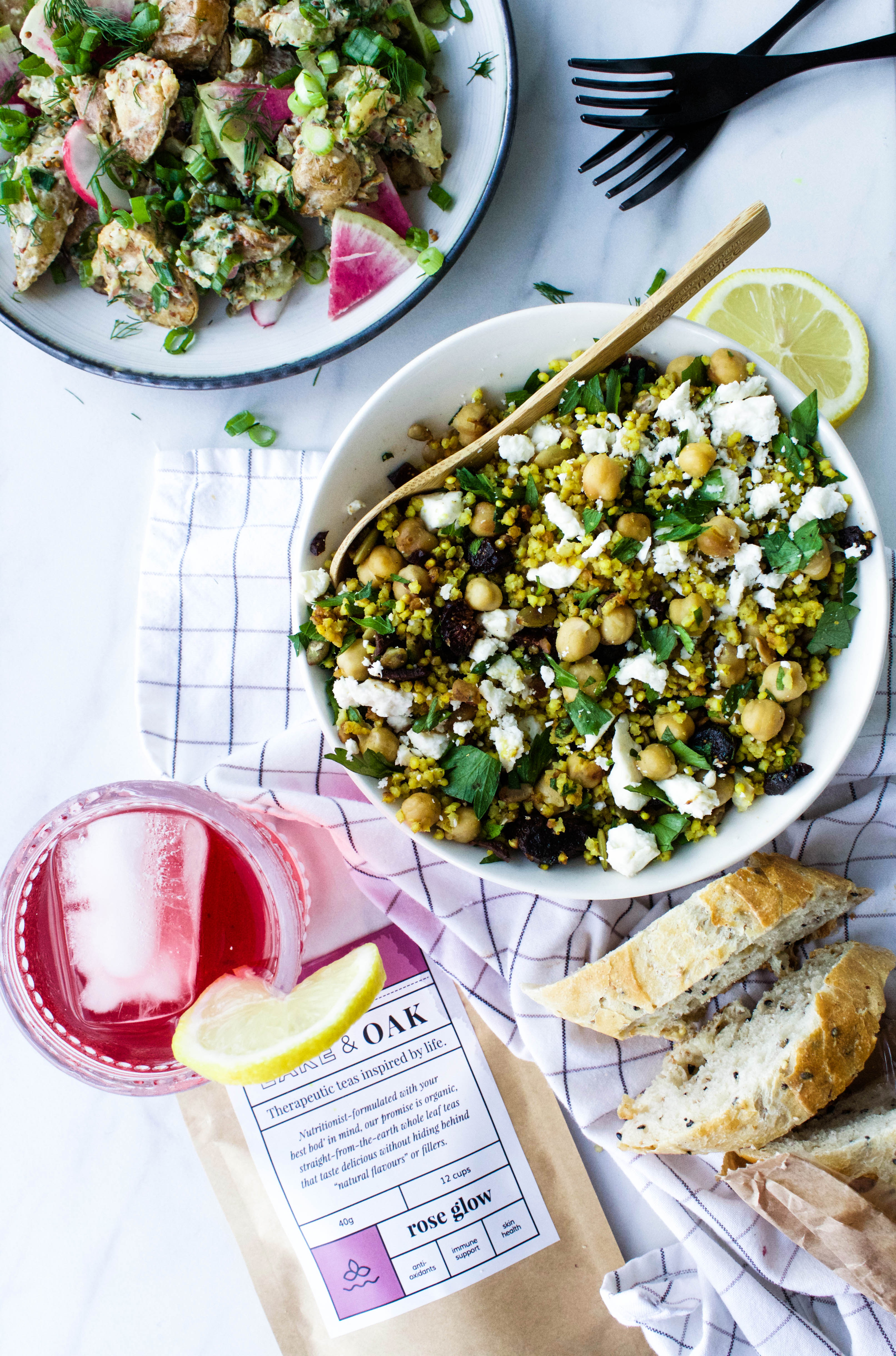 2 Picnic-Ready Salads We're Eating All Summer Long